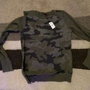 Express camo seater new with tags